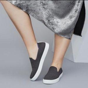 Rothy's Steel Gray Slip-On Sneaker Retired Color 5